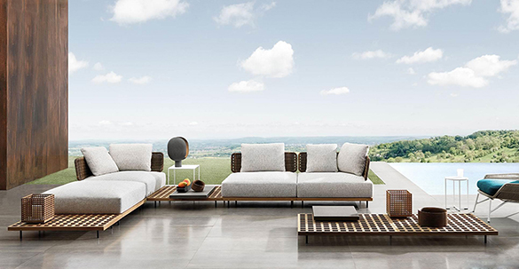 "Quadrado ""Outdoor"" Sofa"